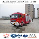 6ton Dongfeng 디젤 엔진 물 소방차 Euro4