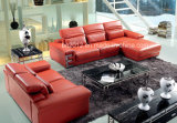 現代家具の上の革ソファーSbo-5908