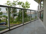 Ce/SGS 주거의, 상업과 산업 건축을%s 간단한 주문 유리제 발코니 담