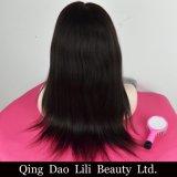 Parrucca piena italiana superiore di seta del merletto di Yaki di buona qualità per le donne di colore