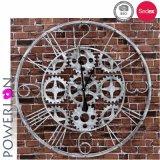 Reloj impermeable del hierro de la pared de Anitque