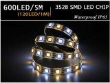 5m flexibles der Bandspule-LED Weiß Streifen-des Licht-IP65 White+Warm