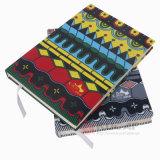 2017 Popular Colorido diário de tecido agenda Notebook