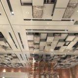 Techo de aluminio modificado para requisitos particulares metal artístico del diseño para el hotel