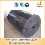 Courroie industrielle en caoutchouc de bord moulée par tissu de PE Polyster