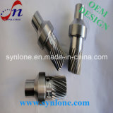 CNC Machining Steel Gear Shaft