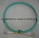 Lc-LC Multimode DuplexOm3 Koord van 3m 50/125 Flard van de Vezel Optische