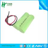 De navulbare Batterij USB van NiMH 2.4V 1200mAh voor Speelgoed, leiden, Helikopter
