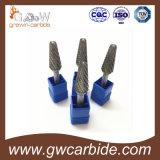 Bavures de carbure de tungstène pour le coupeur