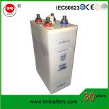 Bateria do ferro niquelar para o armazenamento solar e do vento do sistema