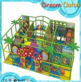 Campo da giuoco di legno di disegno dei bambini di divertimento di ginnastica dell'interno eccellente del gioco