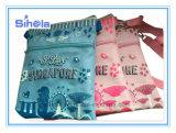 シンガポールの記念品の女の子のパスポートおよび旅行袋