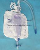 Urin-Beutel für Erwachsenen mit T-Klopfen Ventil des Ventil-T