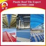 Folha de PVC em plástico ondulado