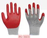 10g два потока T/C хлопок перчатки из латекса