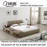 Spätestes Leder-Bett des Entwurfs-2017 für Schlafzimmer-Set-Möbel /Fb8048b
