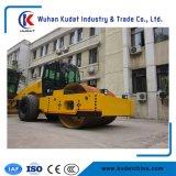 Único cilindro da transmissão hidráulica rolo de estrada de 18 toneladas