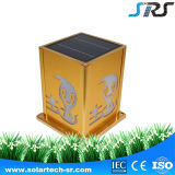 Valla 3.5wp fuente de corriente continua al aire libre solar de la pared montado en China, la lámpara del estilo LED