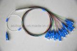 1X 4/8/16/32/64 Optische PLC Splitser Met meerdere kanalen