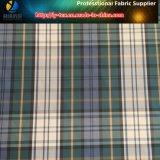 Tejido Tejido Tejido de la tela escocesa del hilado del poliester de la tela cruzada para las chaquetas, (LY-YD1056)