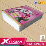 Caderno coreano do livro de exercício do estudante dos artigos de papelaria superiores da escola de Kawii do Sell
