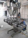 Máquina de rellenar del polvo automático de dos carriles