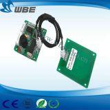 Sistema de apontamento único leitor/gravador de cartão RF Module