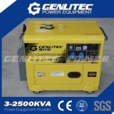 L'aria ha raffreddato il Portable diesel silenzioso del generatore da 5000 watt (DG6700SE)