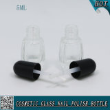 Botella de vidrio de uñas 5ml