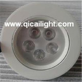 diodo emissor de luz Downlight do poder superior 7X1w