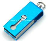 Mini mecanismo impulsor del flash del USB del teléfono del palillo OTG del USB del eslabón giratorio