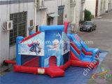 2017 Venda quente congelados insuflável castelo de saltos para crianças