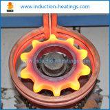 Máquina de superfície do tratamento térmico da indução para o eixo que endurece extinguer