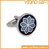 Qualitäts-Metallmanschettenknopf für Geschäfts-Geschenk (YB-r-009)