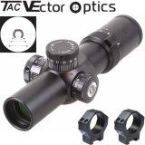 Vector Optics Apophis táctico 1-6X28 Primer plano focal compacto de 35 mm telescópica