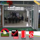 Дверь UPVC/PVC напольная Bifold с Retractable экраном