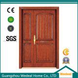 Portes intérieures en bois solides de réserve à matériel en bloc pour des Chambres