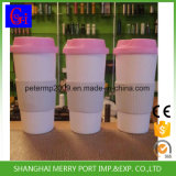Бесплатный образец доступно 500ml 18oz экологически безвредные пластиковые кружки кофе