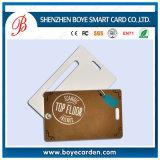 Cartes imprimables d'identification d'accès de porte de la proximité 125kHz Tk4100 du plastique Cr80