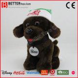 Brinquedo personalizado macio do cão dos animais enchidos do luxuoso