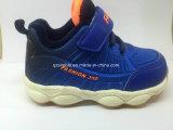Chaussures de course de bébé de sports colorés d'enfants avec Linning confortable