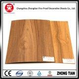 Feuilles en bois de stratifié de formica de configuration