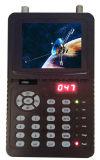 Mini compteur de recherche de satellite de 3,5 po avec port Ahd pour test de caméra CCTV