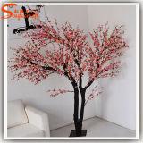 호텔 훈장 인공적인 플랜트 실내 분홍색 꽃송이 나무