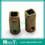 Части втулки электрического двигателя частей высокой точной латуни CNC подвергая механической обработке