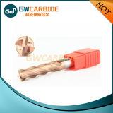Cortador 2 do moinho de extremidade do carboneto, 3, 4, 6 flautas