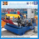 Máquina de friso da folha da telhadura do metal que curva a telha da máquina que faz a maquinaria