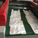 Bolso automático de la camiseta de los bolsos de compras de la maneta que hace la máquina