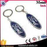 Metal promocional de encargo personalizado Keychain de la marca de fábrica del coche 3D con el Keyring