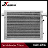 Échangeur de chaleur en aluminium de compresseur d'ailette de plaque de haute performance